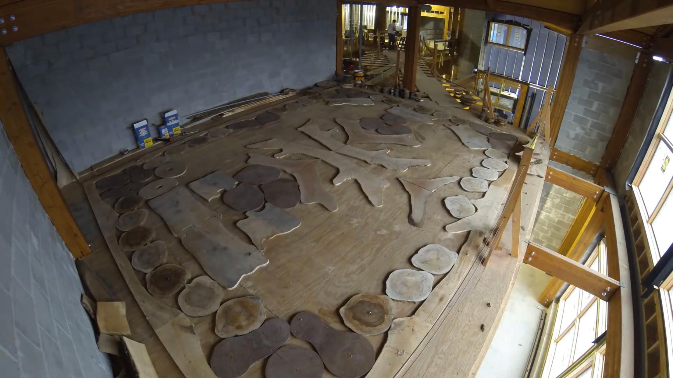 sàn gỗ nghệ thuật
