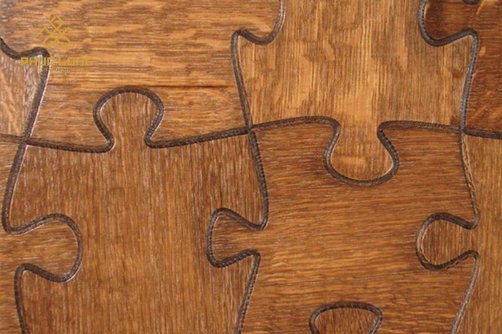 sàn gỗ nghê thuật phúc long