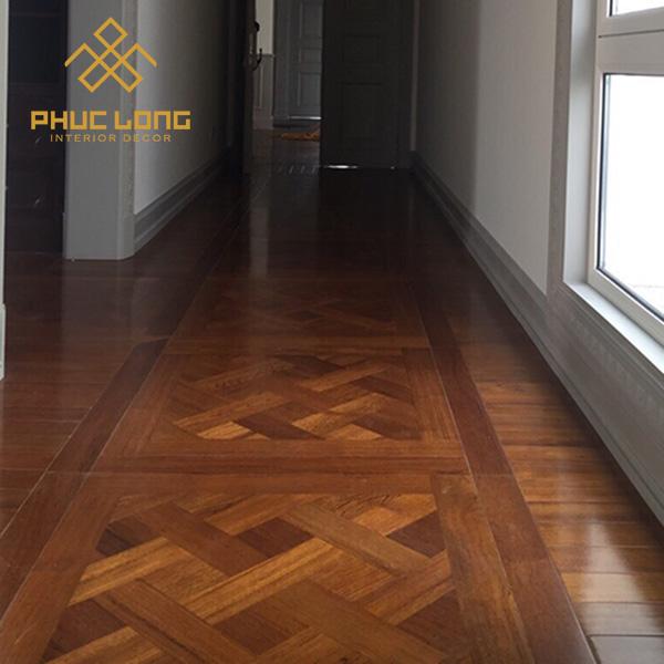 Sàn gỗ solid hoa văn