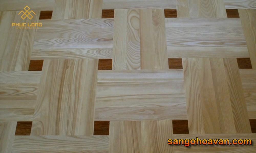 sàn gỗ caro hệ gốc nước